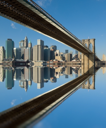 brooklyn bridge, new york, usa photo