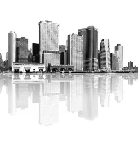 cityscape - new york city skyline photo