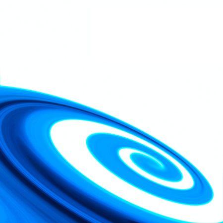 vertigo: abstract blue swirl background