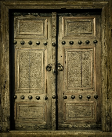 close-up image of ancient doors Stock Photo - 3237380
