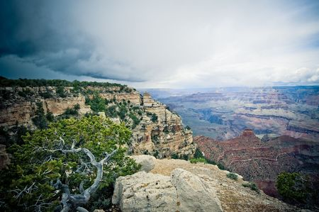 Panorama of Grand Canyon, Arizona, USA photo