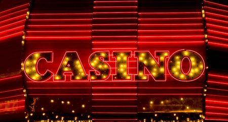 Casino neon sign, Las Vegas photo