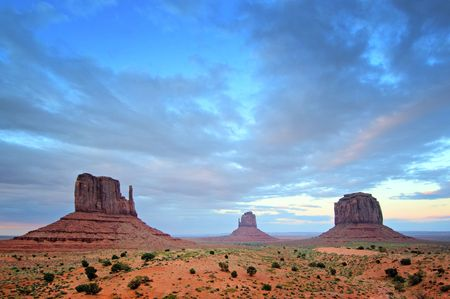 Monument Valley, Utah, Southwest USA Stock Photo - 3271133
