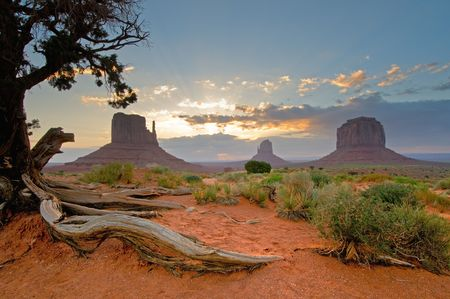 Monument Valley, Utah, Southwest USA Stock Photo - 3271174