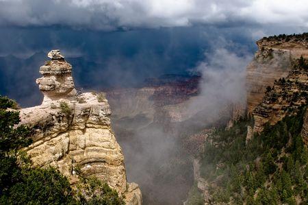 Panorama of Grand Canyon, Arizona, USA photo