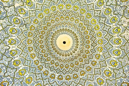 dome: Dome of the mosque, oriental ornaments from Samarkand, Uzbekistan