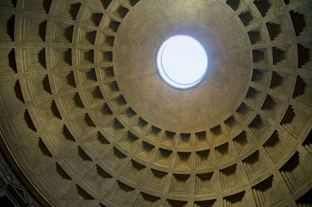 pantheon: Dome of Pantheon, Rome, Italy
