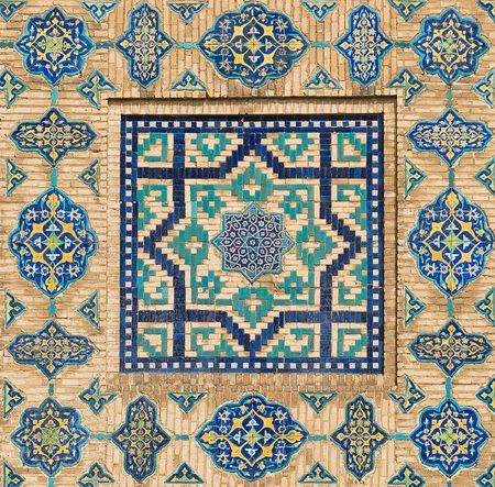Sehr detaillierte Hintergrund mit orientalischen Ornamenten