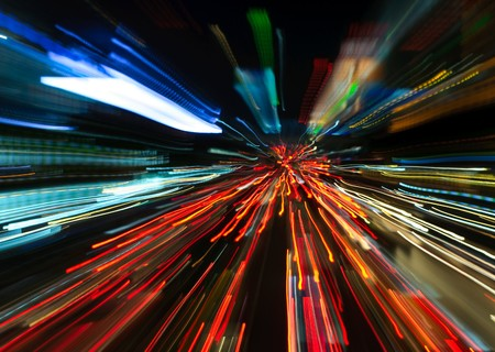 road rage: abstract motion blur background
