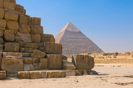 chephren: Pyramids of Giza, Cairo