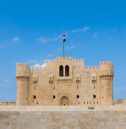 alexandria egypt: Fort Qaitbey, Alexandria, Egypt