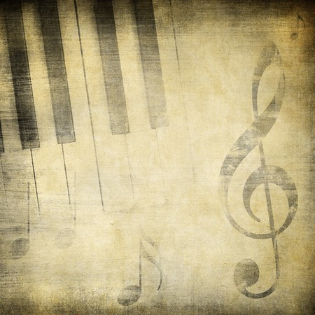grunge music background with space for text or image photo