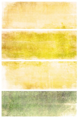 set of grunge backgrounds with space for text or image photo