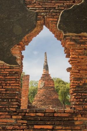 stupas: Stupa di Wat Si Sanphet, Ayutthaya, Tailandia