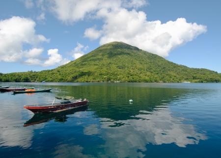 Gunung Api volcano, Banda islands, Indonesia Stock Photo