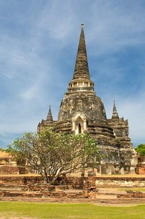 Stupas of Wat Si Sanphet, Ayutthaya, Thailand photo