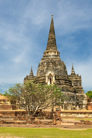 Stupas of Wat Si Sanphet, Ayutthaya, Thailand photo