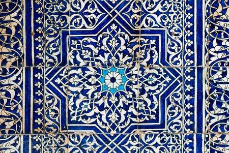 Gekachelten Hintergrund mit orientalischen Ornamenten