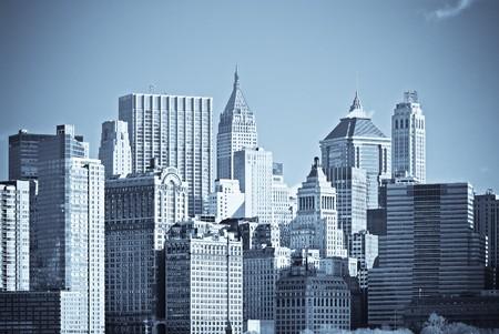 panorama of manhattan, new york Stock Photo - 4465212