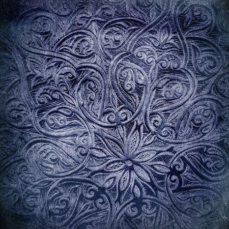 arabic  style: Highly detailed grunge background with oriental ornaments Stock Photo