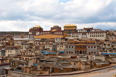 songzanlin tibetan monastery, shangri-la, china photo