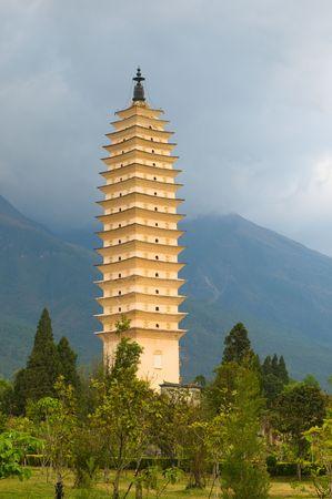 yunnan: Three pagodas, Dali, Yunnan, China