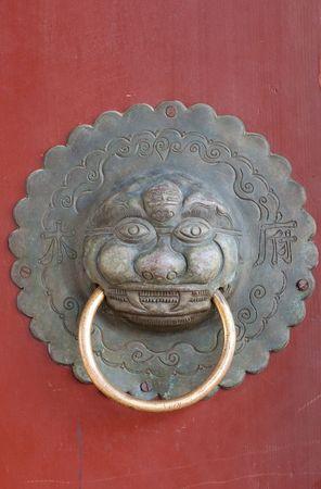 ancient chinese door photo