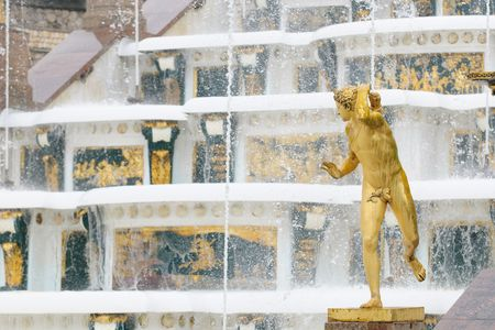Fountains of Petergof, Saint Petersburg, Russia photo