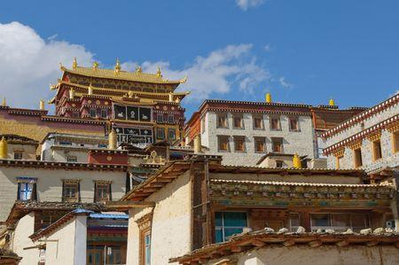lamaism: songzanlin tibetan monastery, shangri-la, china