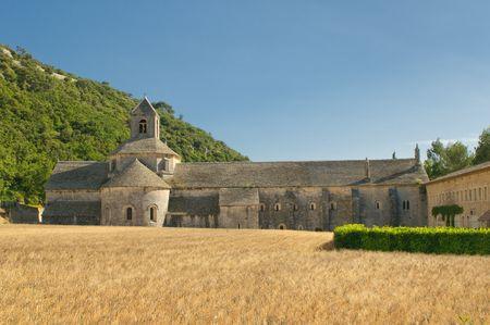 senanque: senanque abbey, provence, france Stock Photo