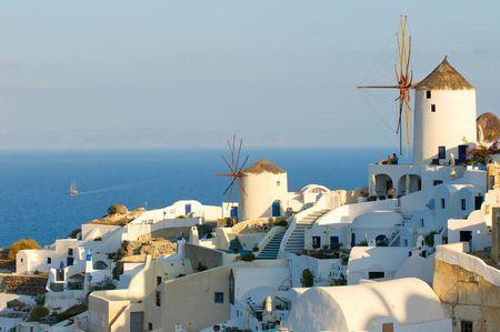 Oia village at Santorini island, Greece Stock Photo - 5965865