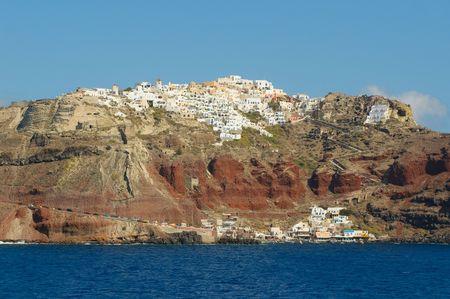 Oia village at Santorini island, Greece Stock Photo - 6097269