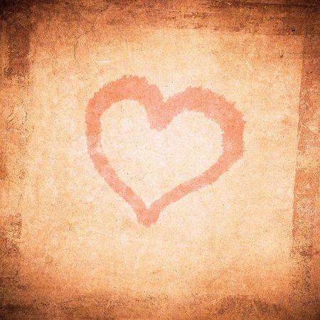 grunge valentine day background  photo
