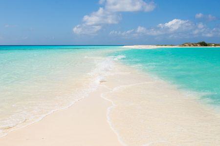 los: tropical beach, los roques islands, venezuela