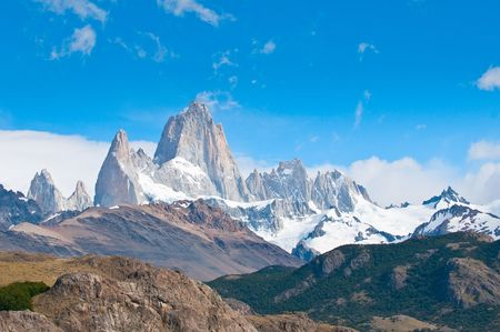 Fitz Roy mountain and Laguna de los Tres, Patagonia, Argentina photo