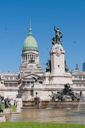 National Congress building, Buenos Aires, Argentina photo
