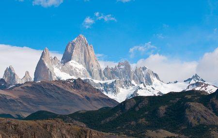 fitz: Fitz Roy mountain and Laguna de los Tres, Patagonia, Argentina