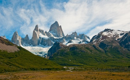 patagonia: Fitz Roy mountain and Laguna de los Tres, Patagonia, Argentina