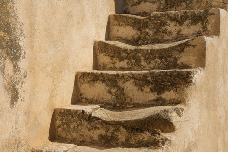 stairway: Old stone stairs