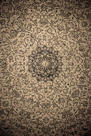 gringe background with oriental ornaments   photo