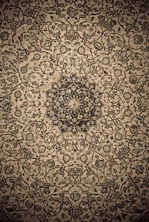 moslem: gringe background with oriental ornaments