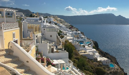 Oia village at Santorini island, Greece Stock Photo - 7722763