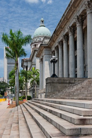 courts: Old Supreme Court Building, Singapore