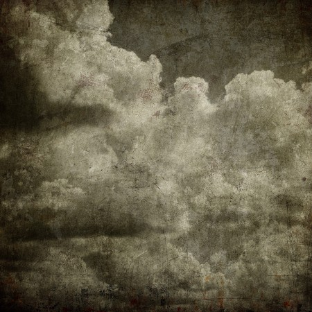 grunge cloudy sky, perfect halloween background Stock Photo - 8073600