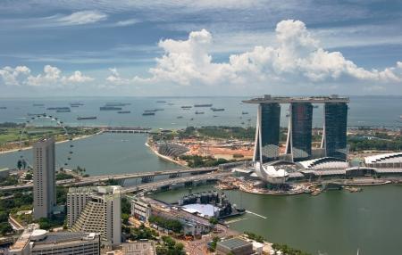 Panorama of Singapore photo