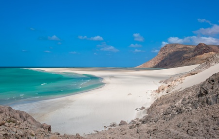 yemen: Detwah lagoon, Socotra island, Yemen