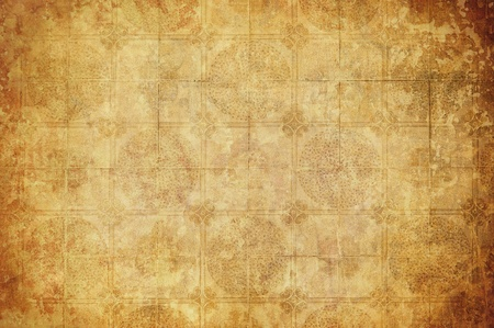 highly detailed image of grunge vintage wallpaper Stock Photo - 9409676
