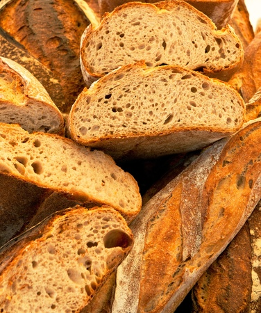 boulangerie: french bread Stock Photo
