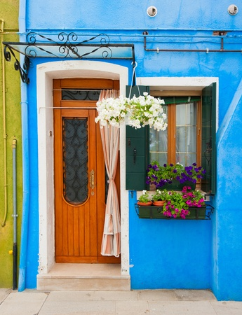 Colorful houses of Burano, Venice, Italy Stock Photo - 9835811