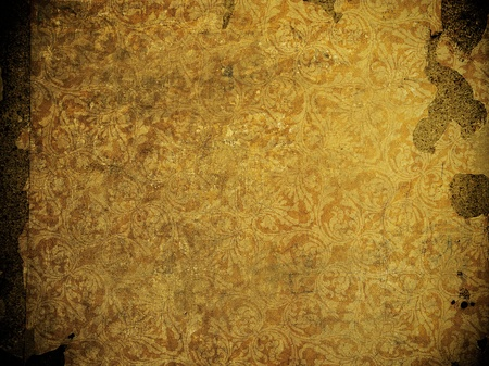 highly detailed image of grunge vintage wallpaper Stock Photo - 9835841